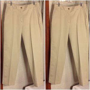 Women's Beige L. L. Bean Casual Pants